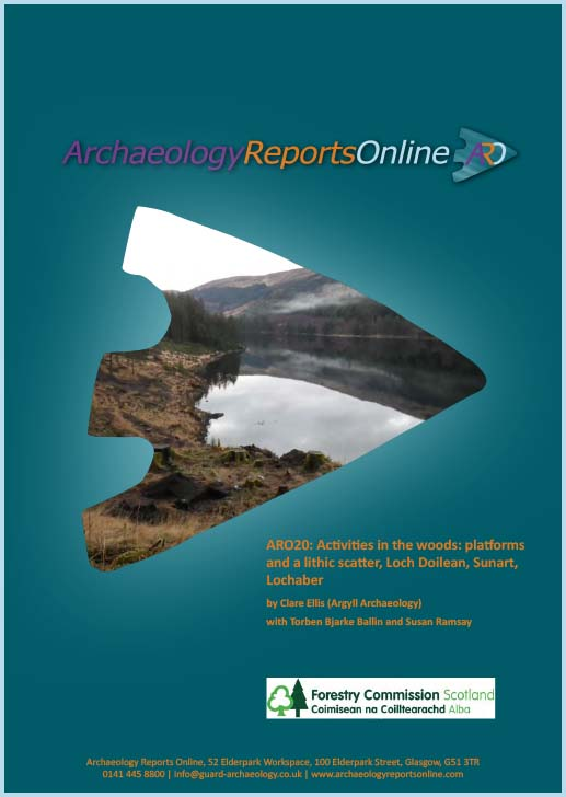 ARO20: Activities in the woods: platforms and a lithic scatter, Loch Doilean, Sunart, Lochaber