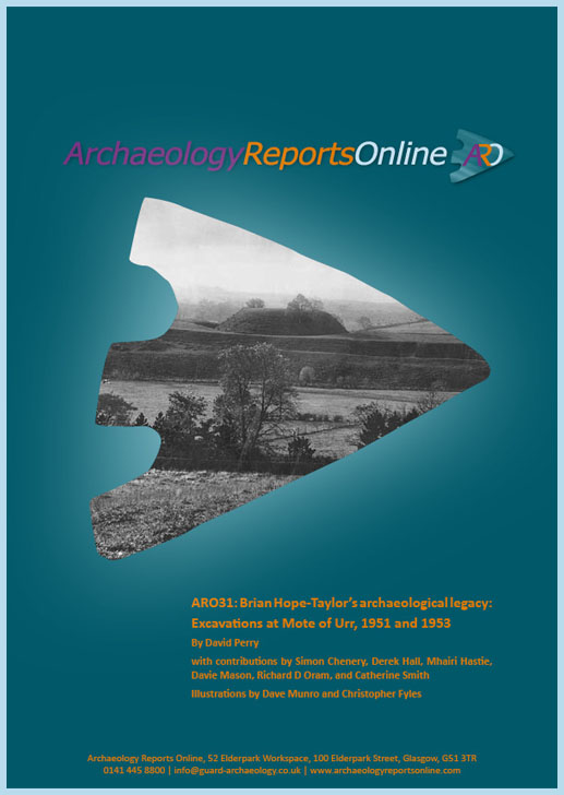 ARO31: Brian Hope-Taylor's archaeological legacy: Excavations at Mote of Urr, 1951 and 1953